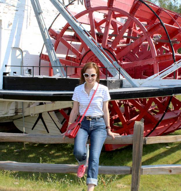 #fashionover40 #fashionover50 patriotic outfit | High Latitude Style | http://www.highlatitudestyle.com