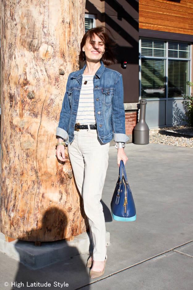 #fashionover40 #fashionover50 casual work outfit for fall