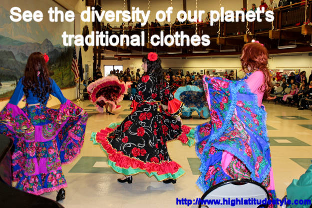 #maturefashion dance Read about the international traditional clothes featured at Fairbanks International Friendship Day