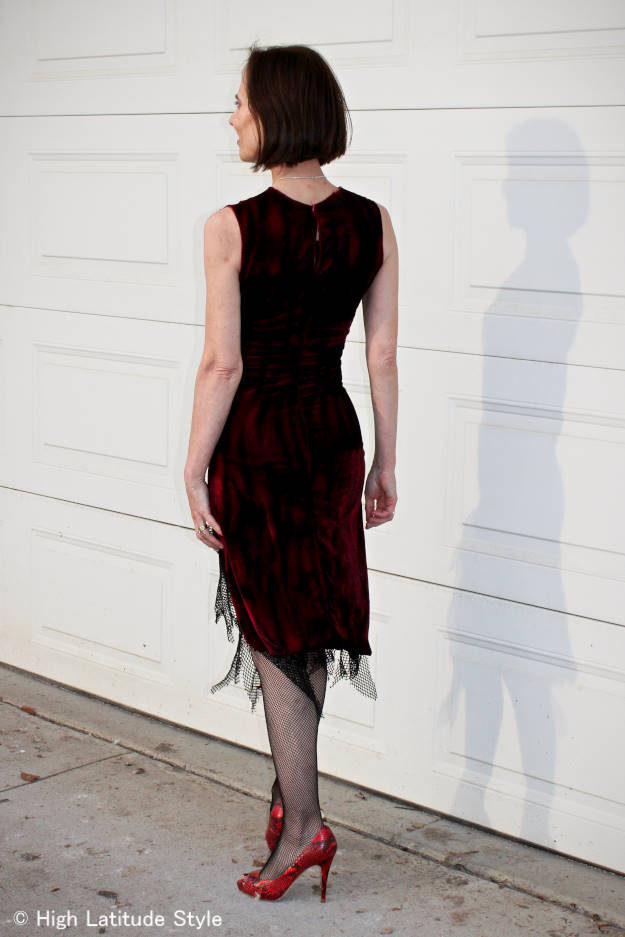 #fashionover40 #fashionover50 #halloween How to get a Halloween costume on a budget: example sale find of a vampire costume @ High Latitude Style @ http://www.highlatitudestyle.com
