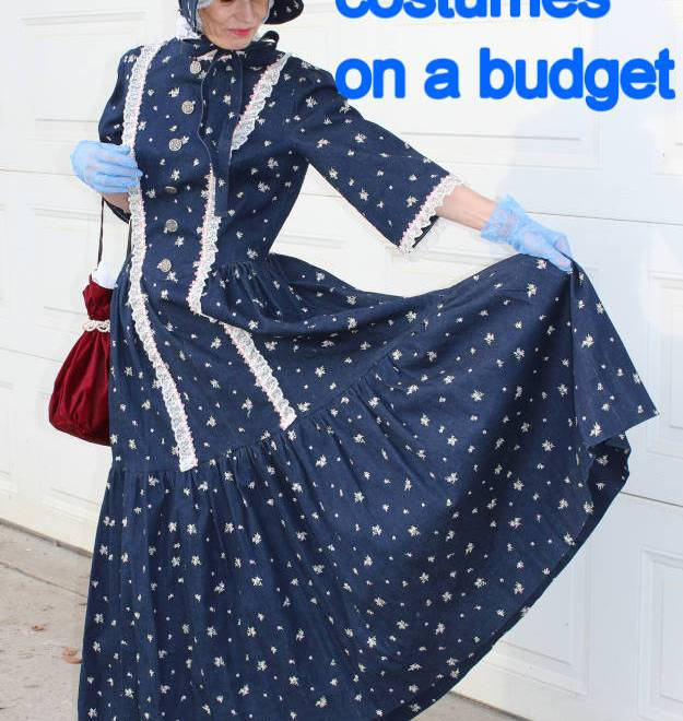 #fashionover40 #fashionover50 #halloween How to get a Halloween costume on a budget: example sew it yourself @ High Latitude Style @ http://www.highlatitudestyle.com
