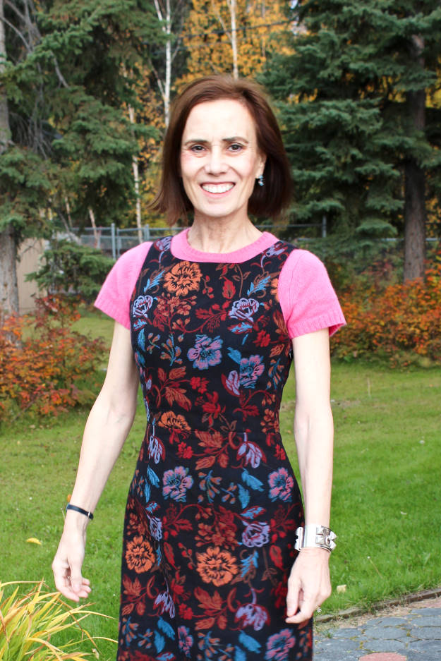 #fashionover40 #fashionover50 Best looks of September - work outfit @ High Latitude Style @ http://www.highlatitudestyle.com