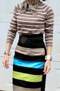 Read more about the article Infinity possibilities (one skirt two ways and more)