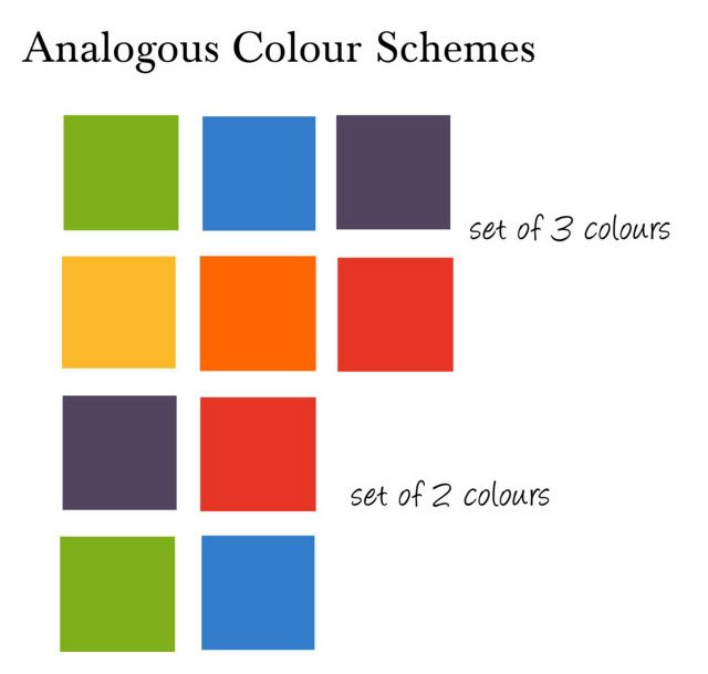 explanation of analogous colors