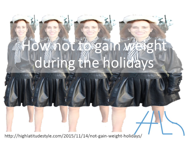 #weight how not to gain weight during the holidays banner