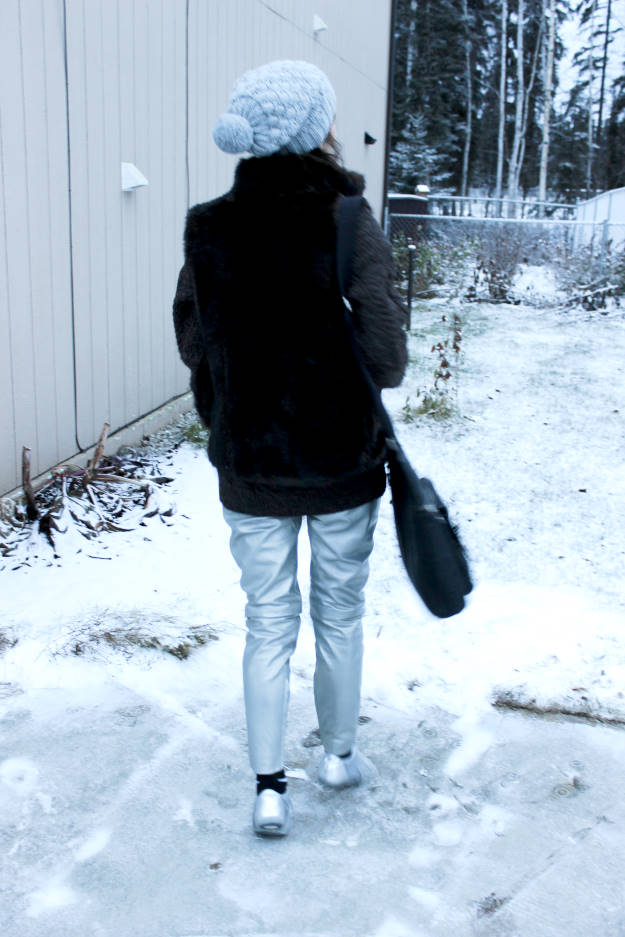 fashion over 50 woman in outerwear