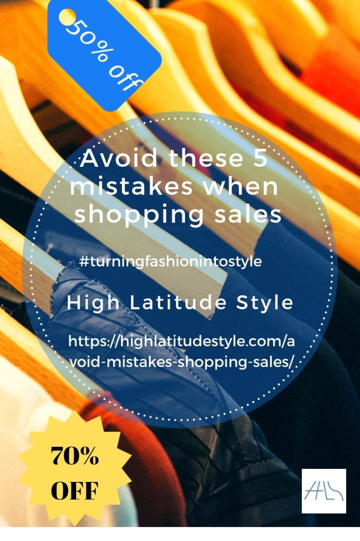 Avoid these 5 mistakes when shopping sales