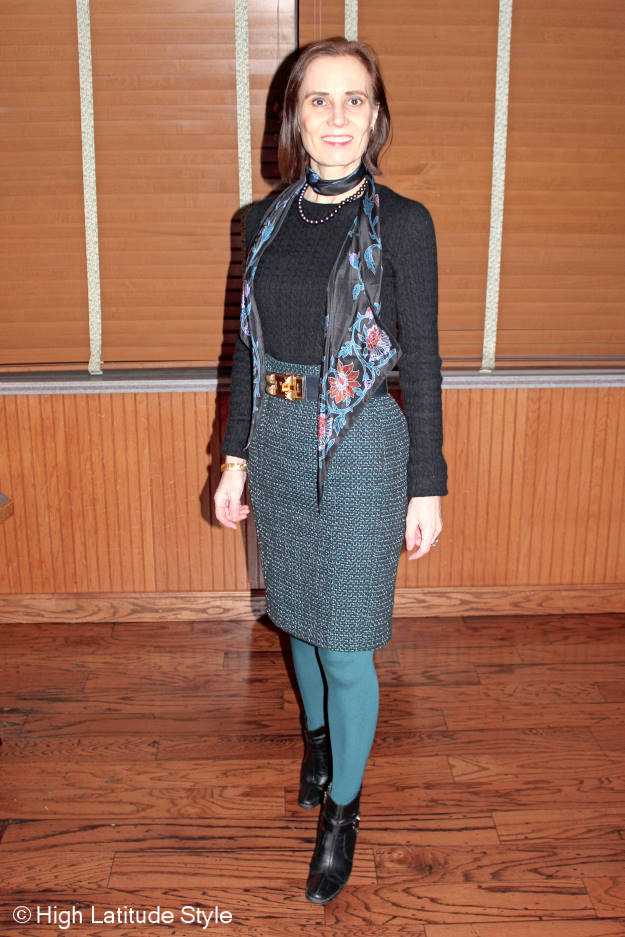 #fashionover40 best looks of January: office outfit @ http://www.highlatitudestyle.com