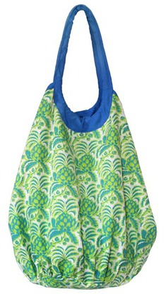 #bags Needham Lane pineapple beach tote