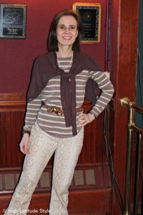 #fashionover50 outfit for the transition season @ The Top of the World Style #linkup @ http://www.highlatitudestyle.com