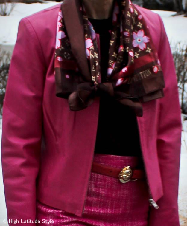 #maturefashion outfit details