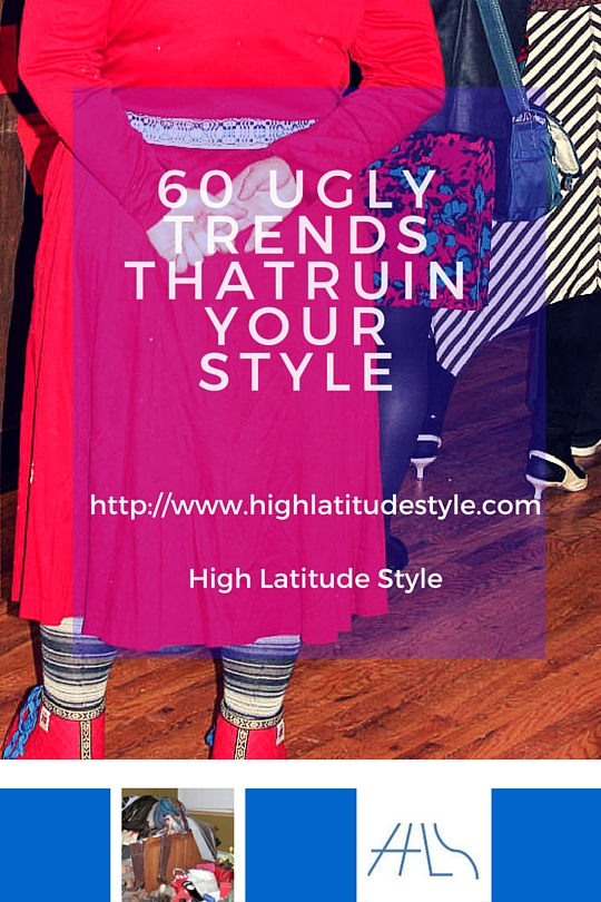 #AgelessStyle 60 ugly trends that ruin your style post banner