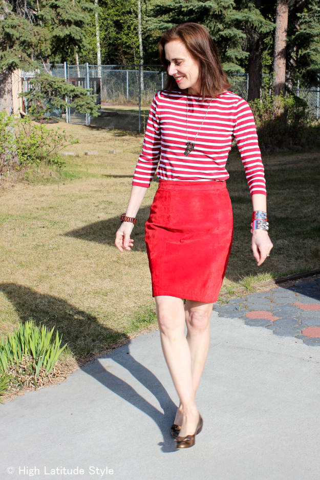 Look cool in a French girl inspired work outfit