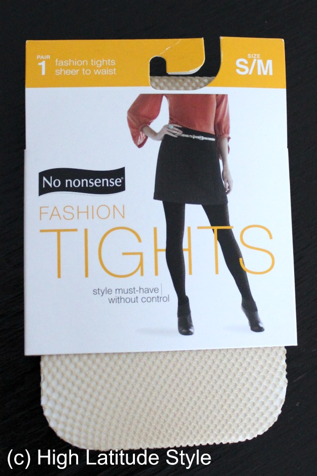 #NoNonsense fashion tights sheer to waist in package