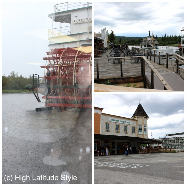 #Alaska Riverboat Discovery landing post