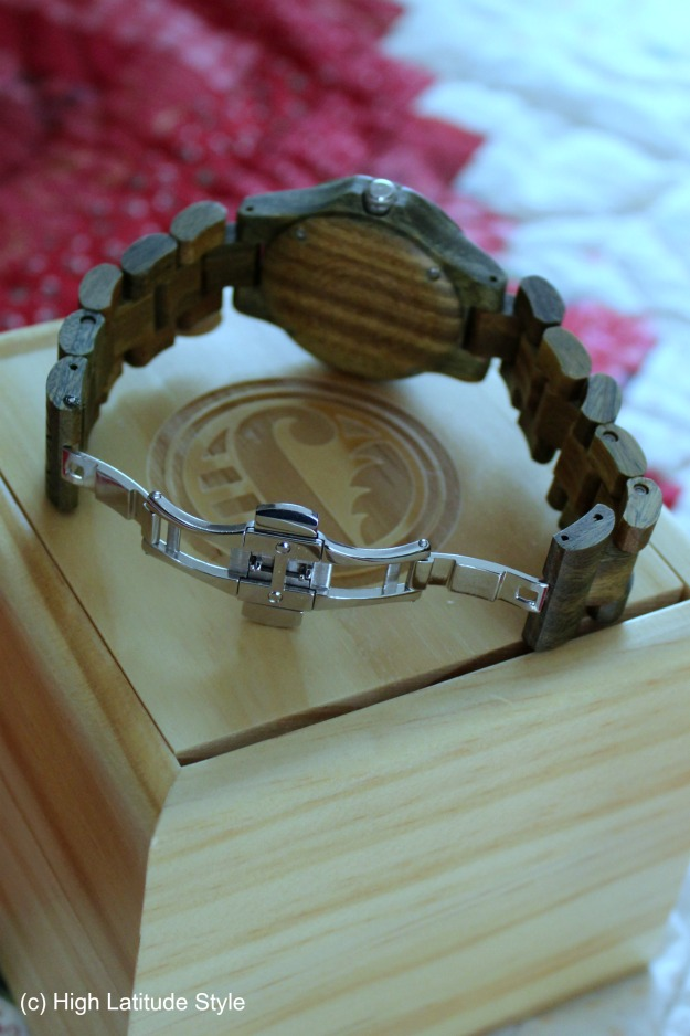 #woodwatch #uniquewatch #coolwatch wood watch back view