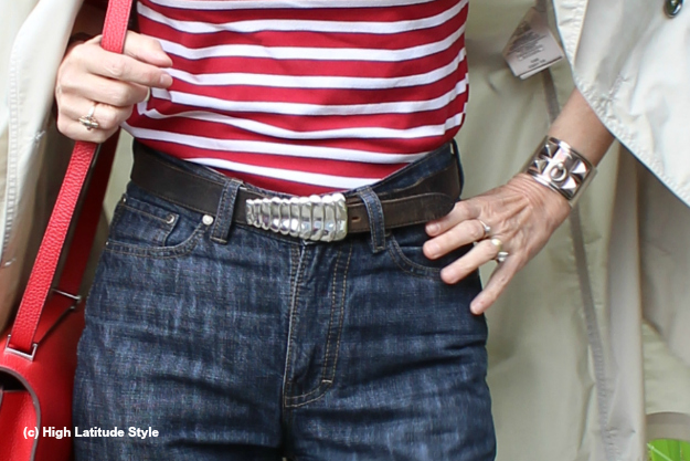 accessories belt buckle details