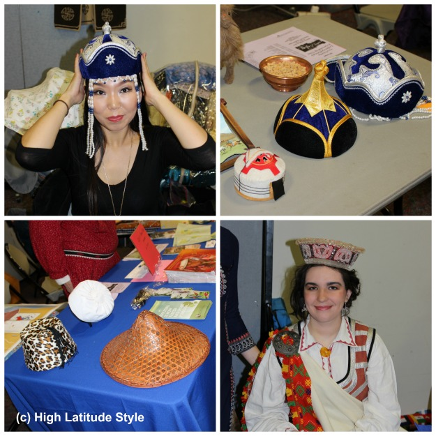#ethnicClothes hats from various countries