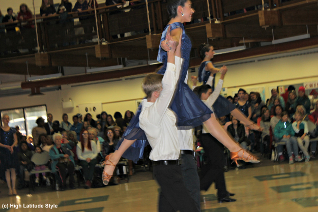 #ballroomdancing Lathrop High School Ballroom Dance Team