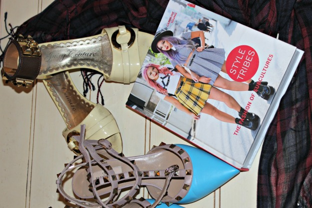 #fashionbook Style Tribes book and sub-culture styling elements reviewed in this post
