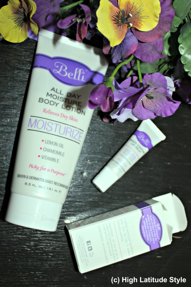 Belli lip balm and body lotion – review