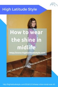 How to avoid looking ridiculous in the shine trend