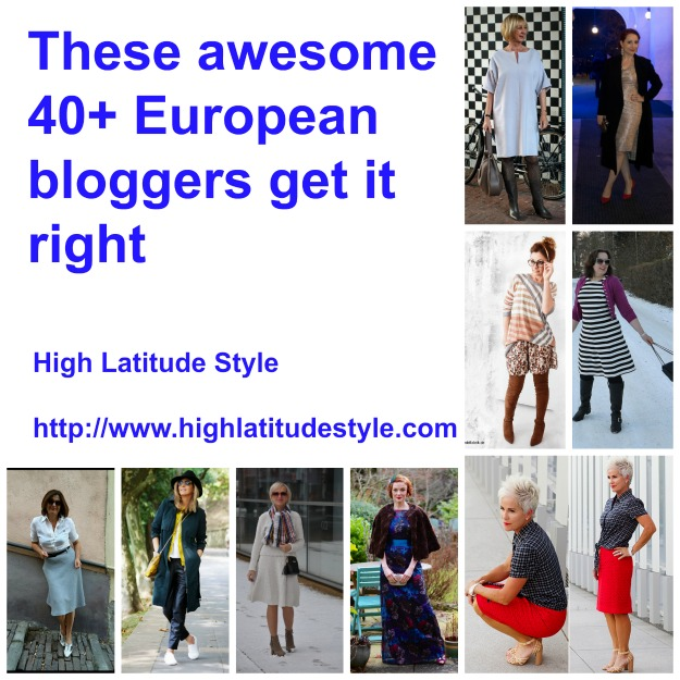 fashion over 40 Nine awesome European fashion and style bloggers