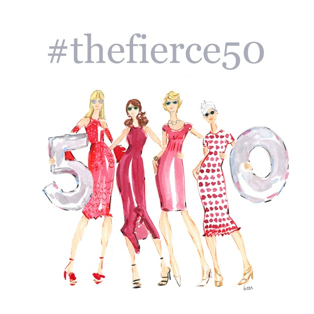 TheFierce50 Artwork illustration credit to @bethbriggsillustration