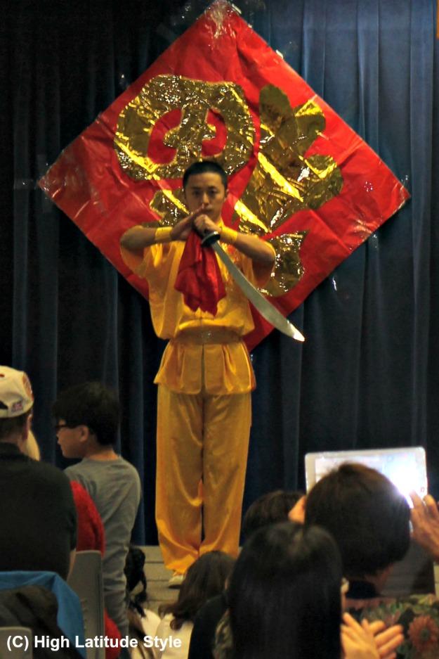 kung fu demonstration in Alaska