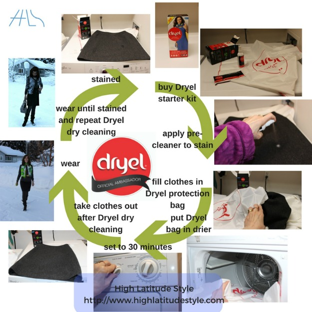 You will love these easy steps of Dryel  dry cleaning
