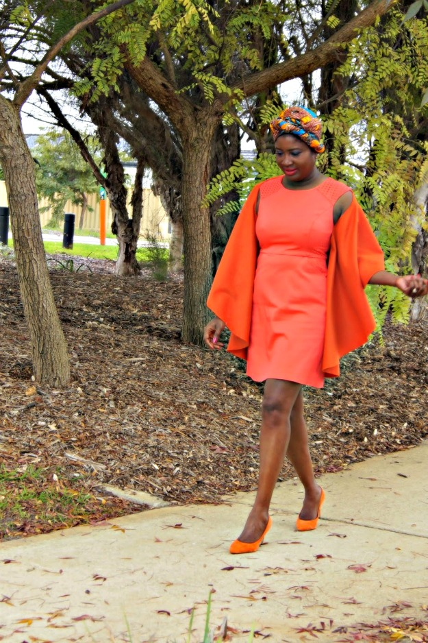 #fashionover40 classic look with an African twist
