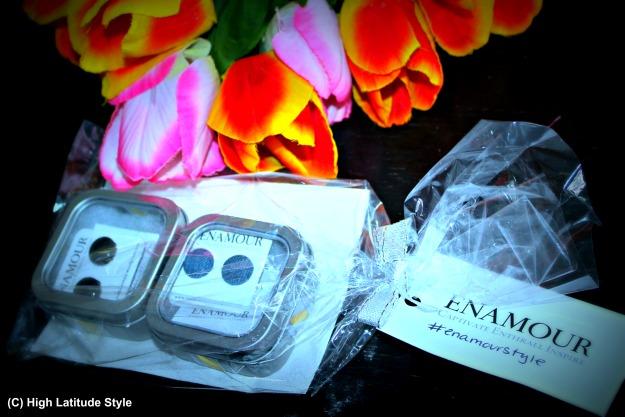 enamourdesignhouse giftwrapped earrings