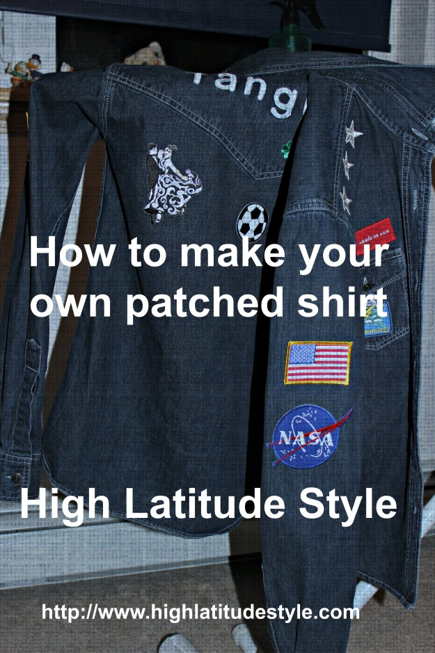 How to make a great patched shirt