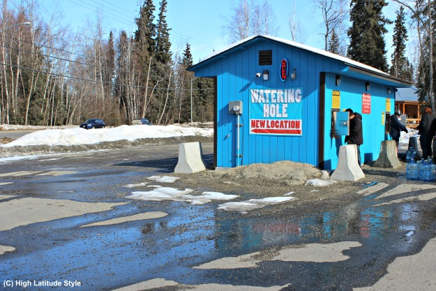 Alaska lifestyle drink water is a challenge when living in permafrost