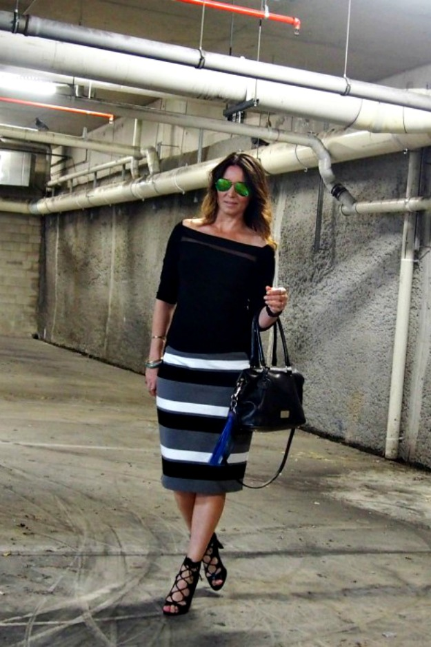 #fashionover40 casual posh work outfit