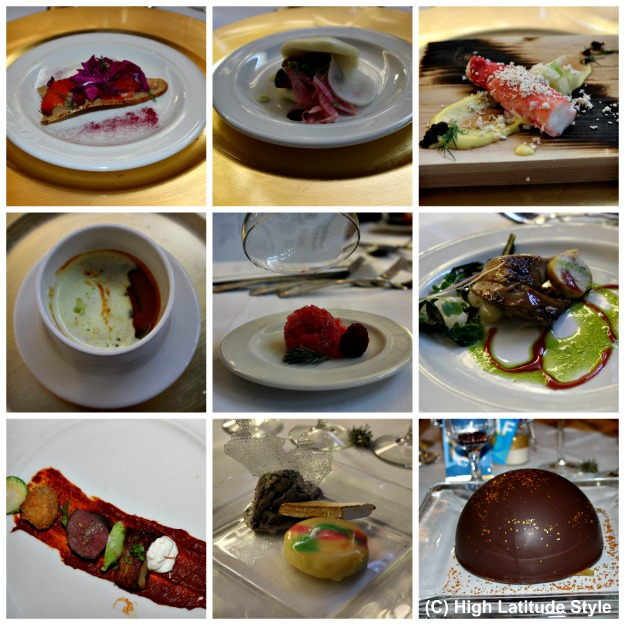 Alaska food made from food harvested in Alaska and its waters