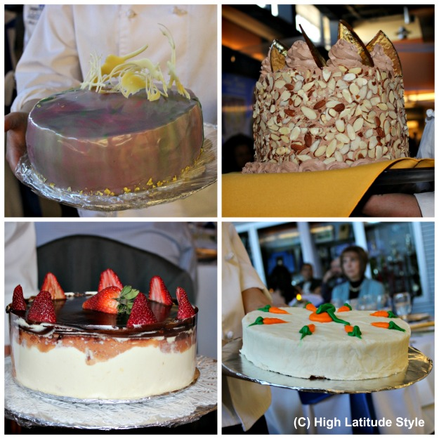 culinary art student-made cakes