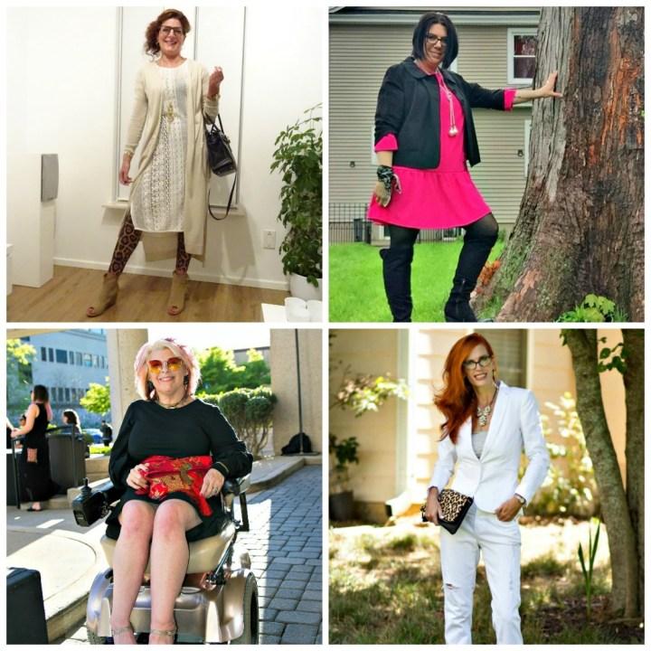 Fashion over 40 Nancy, Shelbee, Alicia, Jess