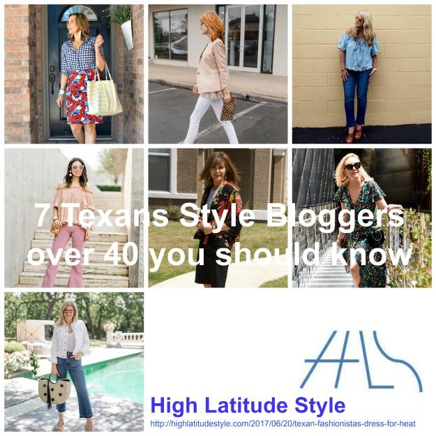 7 Texan fashion bloggers over 40