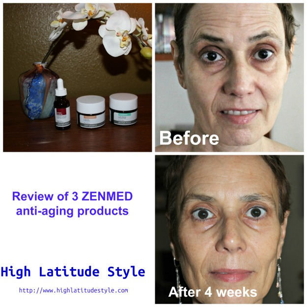 Review of ZENMED's antiaging products