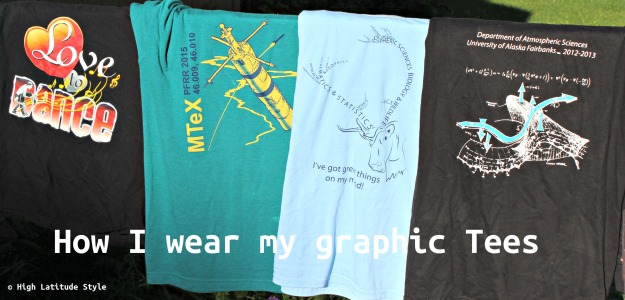 #agelessstyle how I wear my graphic Tees
