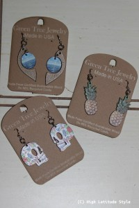 Review of Green Tree Jewelry earrings