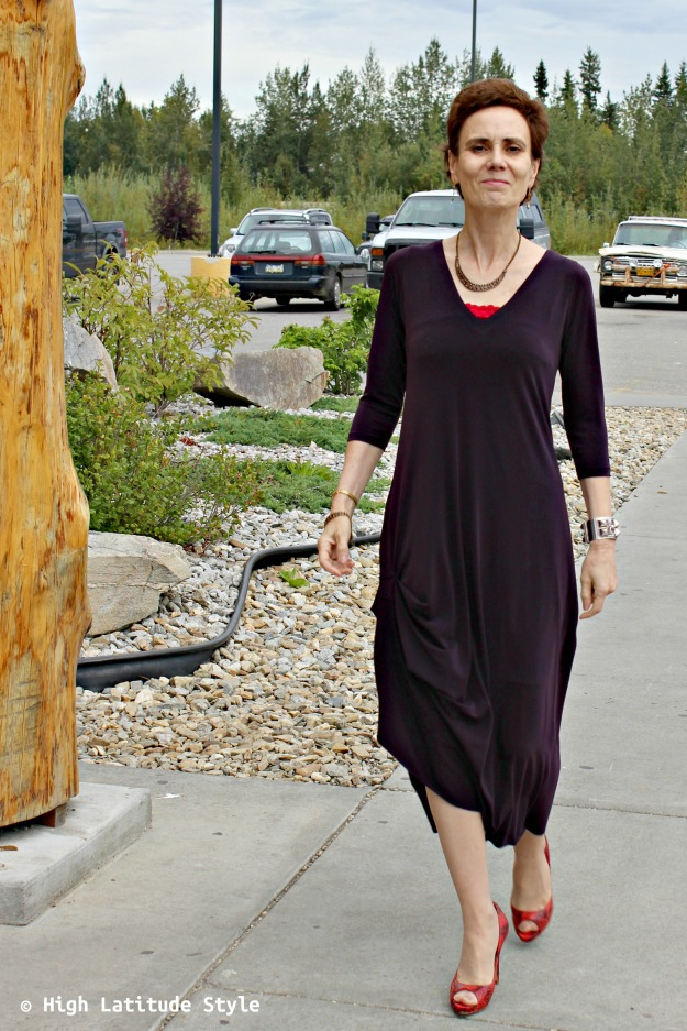 Review of SYMPLI drama dress