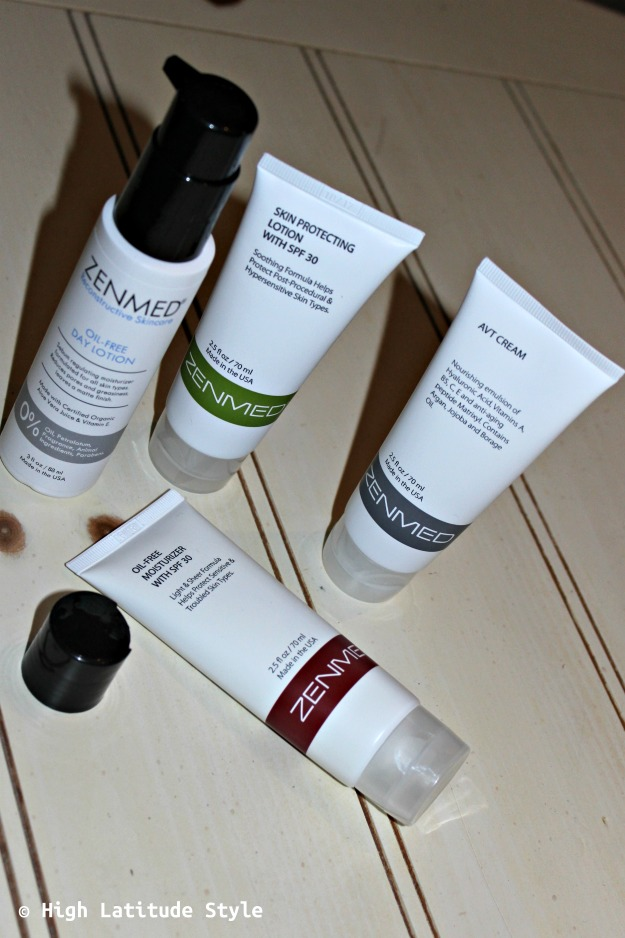 Review of Zenmed skin care and anti-aging creams