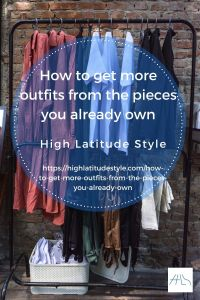 How to get more outfits from the pieces you already own