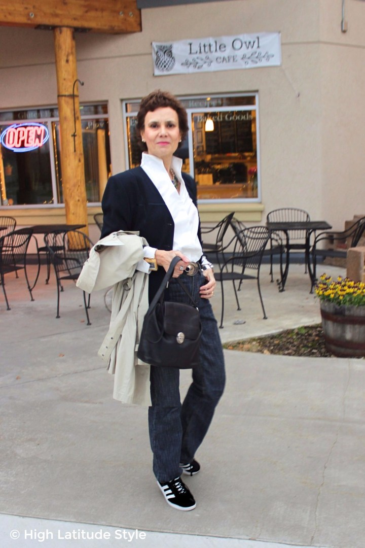 #advancedfashion woman in posh business casual