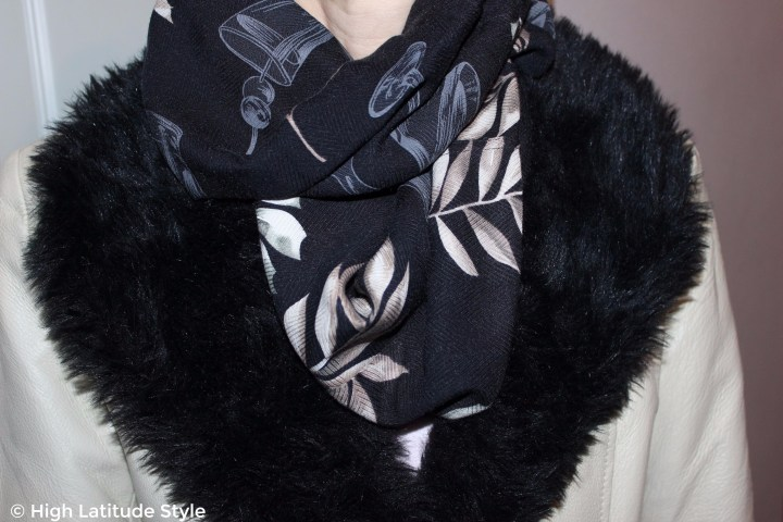 How to turn an old shirt into a great scarf