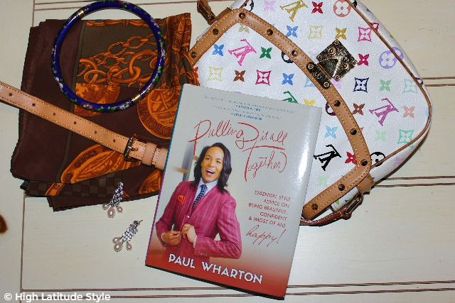 "#Fashionbook Hardcopy of Paul Wharten's style advice book ""Pulling it all together"""