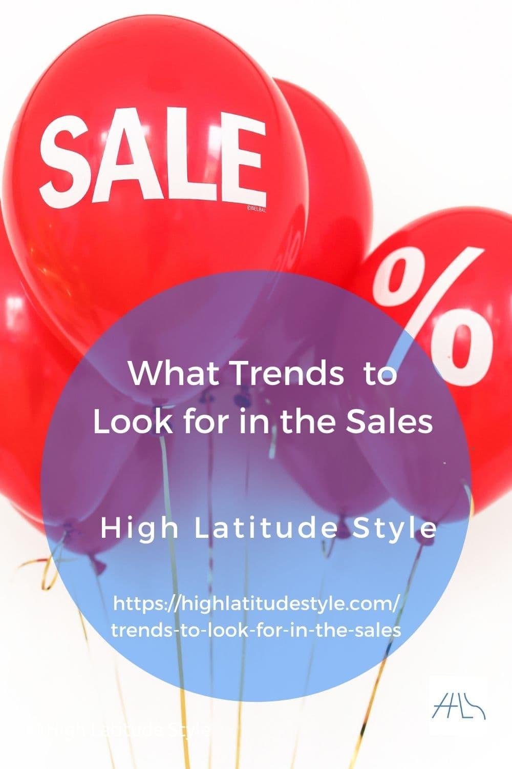 trends post banner showing sales balloons