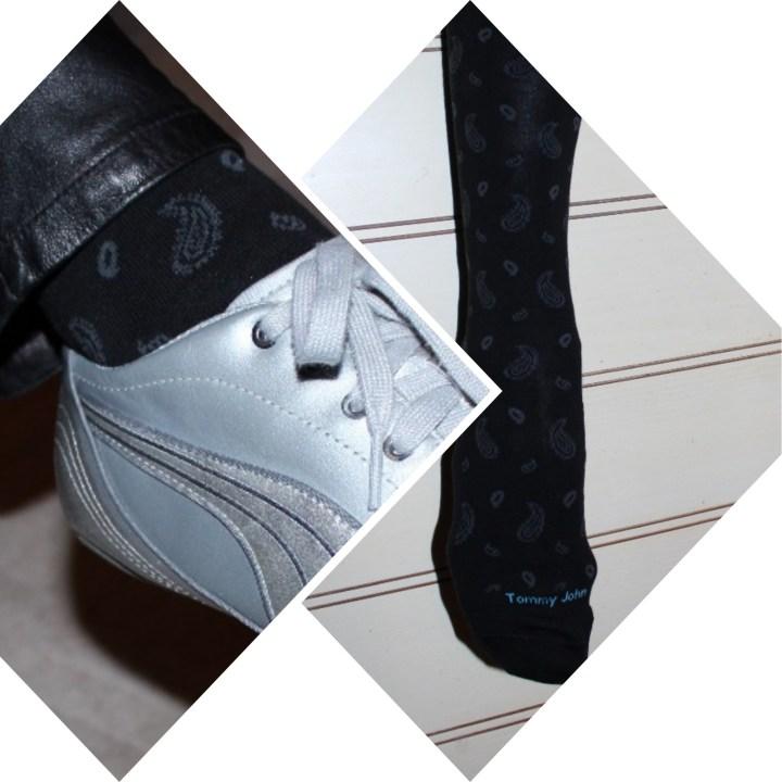 #trend trendy patterned knitted footwear
